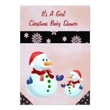 Christmas Baby Shower Invitations - it u0027s a christmas baby shower invitation cards u2013 invitations 4 u