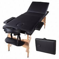 Oakworks Massage Tables by 84 U0026 034 L Portable Massage Table 3 Fold Spa Bed Sheet 2