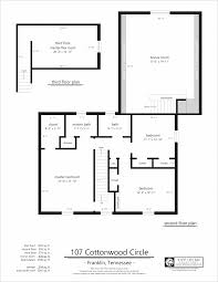 Easy Floor Plan 107 Cottonwood Circle U2013 Second Floor Plan Sketch Site Plan
