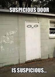 Door Meme - suspicious door funny meme pics photos bajiroo com