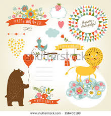 kids birthday party invitation stock images royalty free images