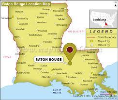 map of baton is baton louisiana