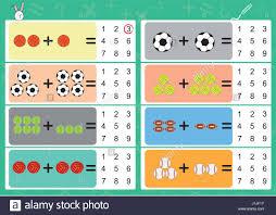 math worksheet stock vector art u0026 illustration vector image