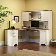Home Computer Desks With Hutch Convenient Corner Computer Desk With Hutch