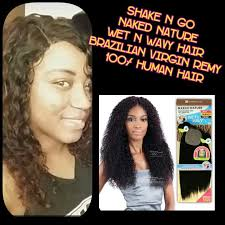 wet and wavy sew in hair care shake n go wet n wavy brazilian virgin remy hair hair care youtube