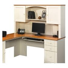 Sauder Harbor View Corner Computer Desk In Antiqued Paint 16 Best Kitchen Computer Workstation Images On Pinterest