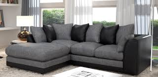 Black Corner Sofas Grey Corner Sofas With Light Grey Chennile Rug U2013 Homyxl