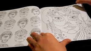 coloring book flip color mindful enchanted creatures