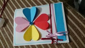 how to make handmade greeting cards diy tutorial youtube