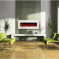 20 ways to modern wall mount fireplace