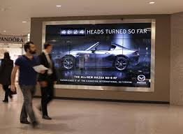 is mazda foreign a sign of the times mazda u0027s new billboard is watching you the