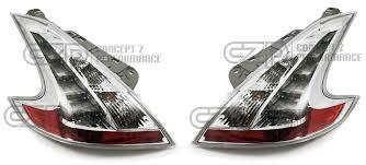 nissan 370z tail lights nismo b65e0 1ek00 jdm clear tail lights nissan 370z 09 z34 b65e0