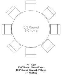 5 foot round table 5ft round table google search table linen measurements