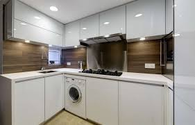 laundry in kitchen ideas laundry in kitchen kitchen contemporary with wood veneer