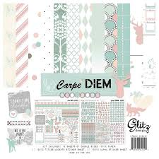 glitz design carpe diem 12 x 12 collection pack