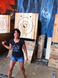 more than seven pairs brunch and axe throwing madness