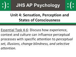 Change Blindness Task Unit 4 Sensation Perception And States Of Consciousness Ppt