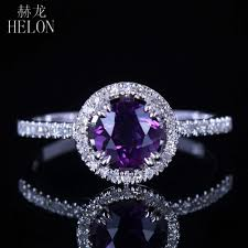 compare prices on amethyst engagement compare prices on amethyst diamond gold ring online shopping buy