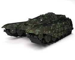 jeep tank military futuristic fantastic tracked armored jeep 3d model