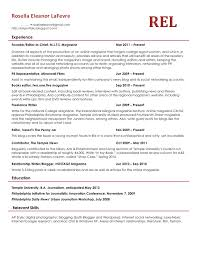 temple resume format well written resume examples