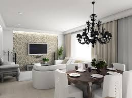 Feng Shui Dining Room Interior Design With Elegant Lighting - Dining room feng shui
