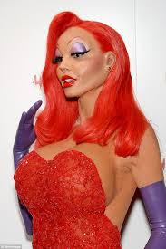 Halloween Costume Jessica Rabbit Halloween Costumes Give Head Lice Daily Mail