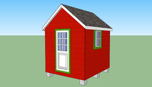 8x8 garden shed plans howtospecialist how to build step by