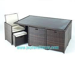 Outdoor Rattan Garden Furniture by Cube Patio Set U2013 Smashingplates Us