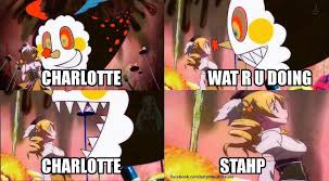 Charlotte Meme - no charlotte no stahp know your meme