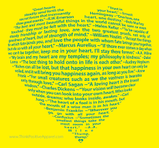 quotes inside or outside quotes big heart design made entirely of quotations about heart think
