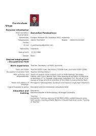 Resume Vs Vita Regular Resume Examples Resume Example And Free Resume Maker