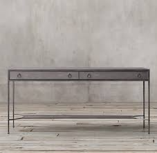 Shagreen Console Table by Villette Shagreen Console Table