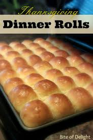 dinner rolls bite of delight