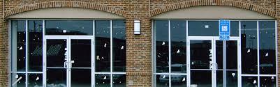 store front glass doors glass repair in montclair nj glass in montclair storefronts in