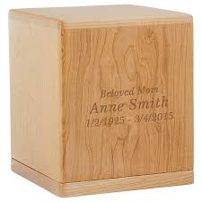 cremation boxes wood cremation urns for ashes