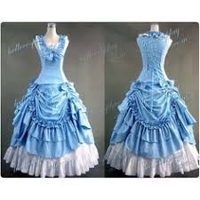 Ball Gown Halloween Costumes Victorian Southern Belle Princess Floral Ball Gown Dress