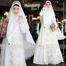 wedding dress syari mamajang syari by karaeng hilda galerigibran
