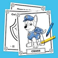 happy birthday paw patrol coloring page the top 10 paw patrol printables of all time nickelodeon parents
