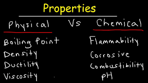 physical vs chemical properties explained examples chemistry