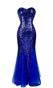 blue sequin bridesmaid dress sweetheart royal blue sequins lace up evening dress prom