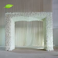 indian wedding backdrops for sale gnw 8ft artificial and hydrangea flower arch as indian