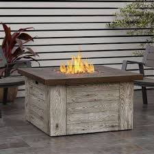gas fire pit table kit real flame outdoor outdoors the home depot