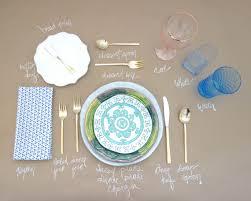 a formal table setting guide videndae