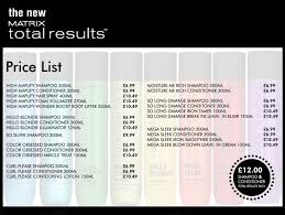 hairstyle price list matrix hair color price list images hair coloring ideas