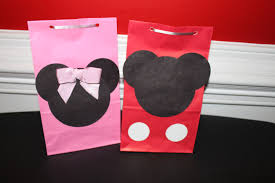 mickey mouse gift bags makers party planners and party supplies mickey mouse party