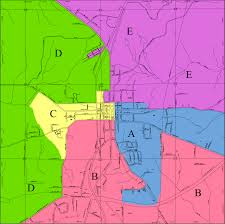 New Orleans District Map by Relevant Maps For Lafayette Alabama