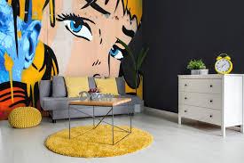 60s Home Decor Retro Wallpaper For 60s And 70s Home Decor Wallsauce Usa