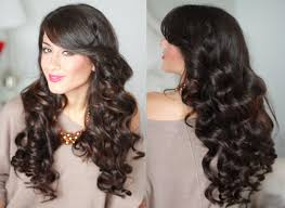 curled hairstyles for long hair with curling iron u2013 modern