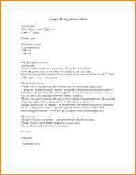 How To Write A Resignation Letter Template 9 Tender Resignation Letter Sample Parts Of Resume