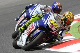 valentino rossi motocross helmet valentino rossi reluctant for off track fight with jorge lorenzo mcn